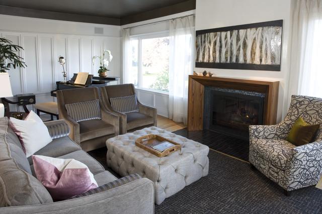 North End Formal Living Room transitional-living-room