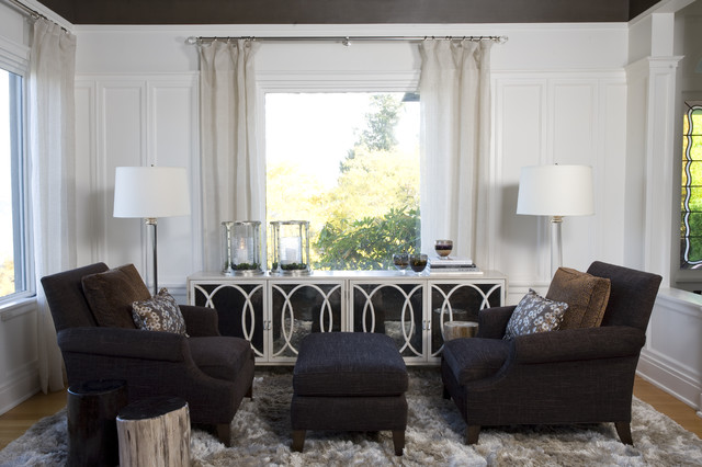 North End Formal Living Room - Contemporary - Living Room ...