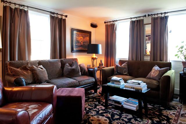 North Framingham, MA farmhouse-living-room