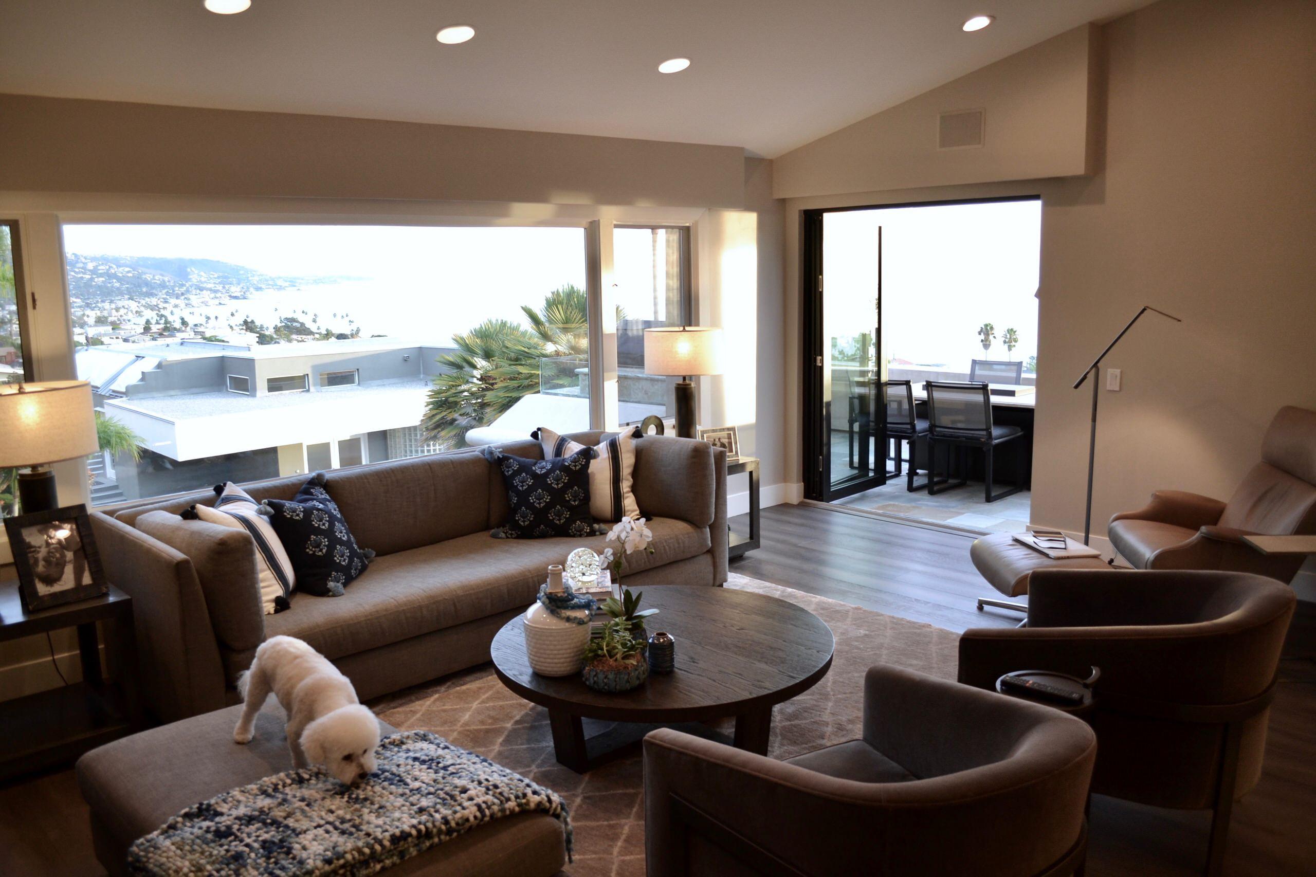 North Laguna Beach Ocean View Contemporary
