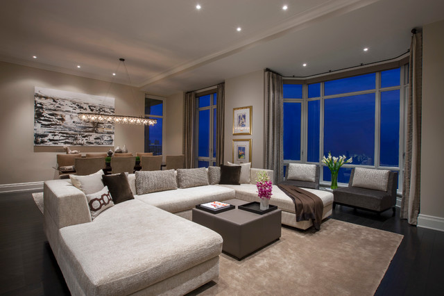 North lakeview contemporary living room chicago by for Limited space bedroom ideas