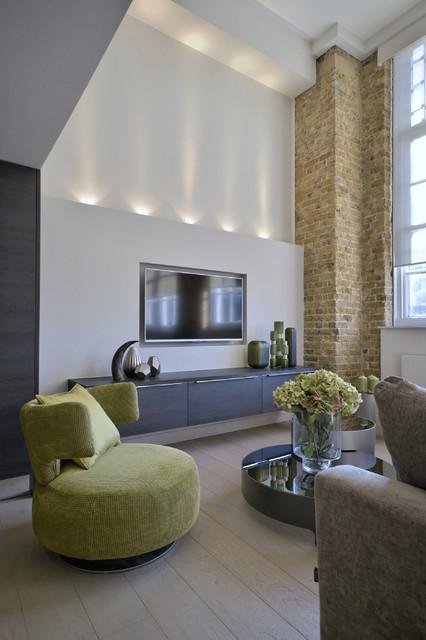 North london schoolhouse conversion for Interior designers north london