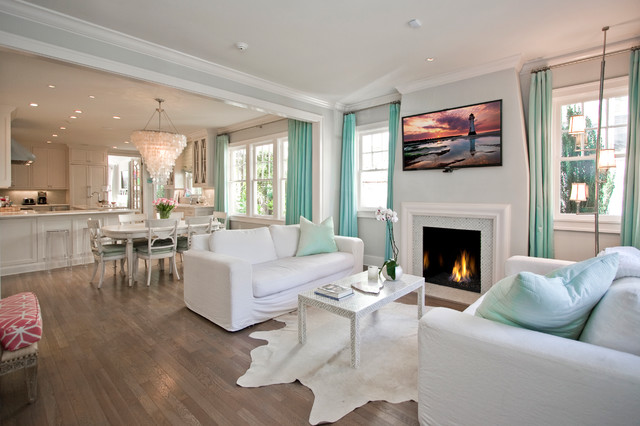 North Palm Beach Style Living - Beach Style - Living Room ...