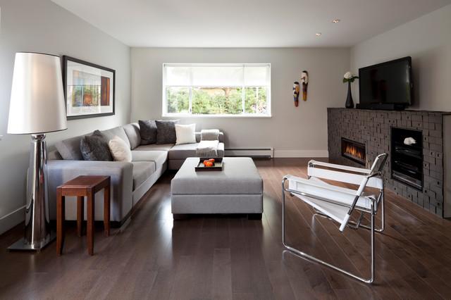 North Shore Condo contemporary-living-room