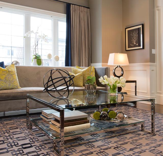 North Toronto Living Room/Dining Room contemporary-living-room