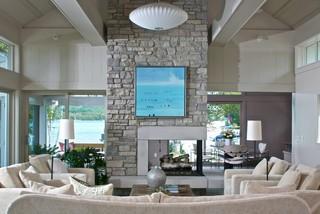 Northern Michigan Treasure - Contemporary - Living Room - grand rapids - by Scott Christopher ...