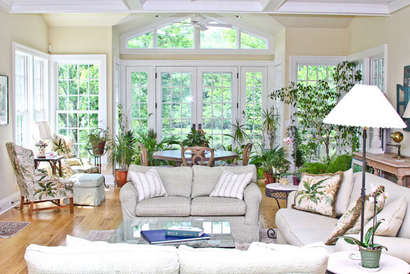 Northern Westchester Country Home traditional-living-room