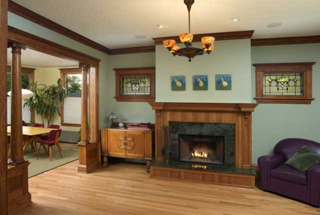 Northlight Architects traditional-living-room