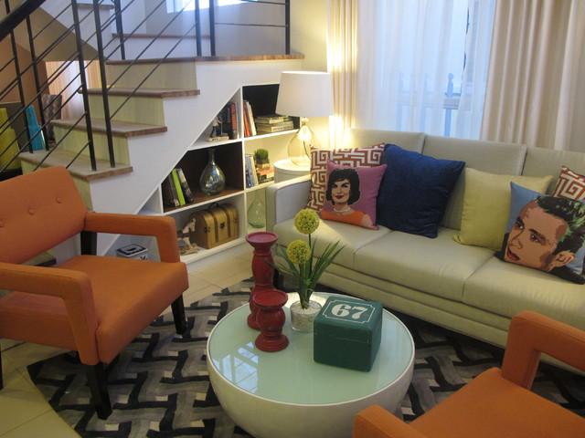 Northpine land Eleonor Model House modern-living-room