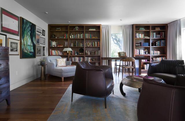Northwest Hills contemporary-living-room