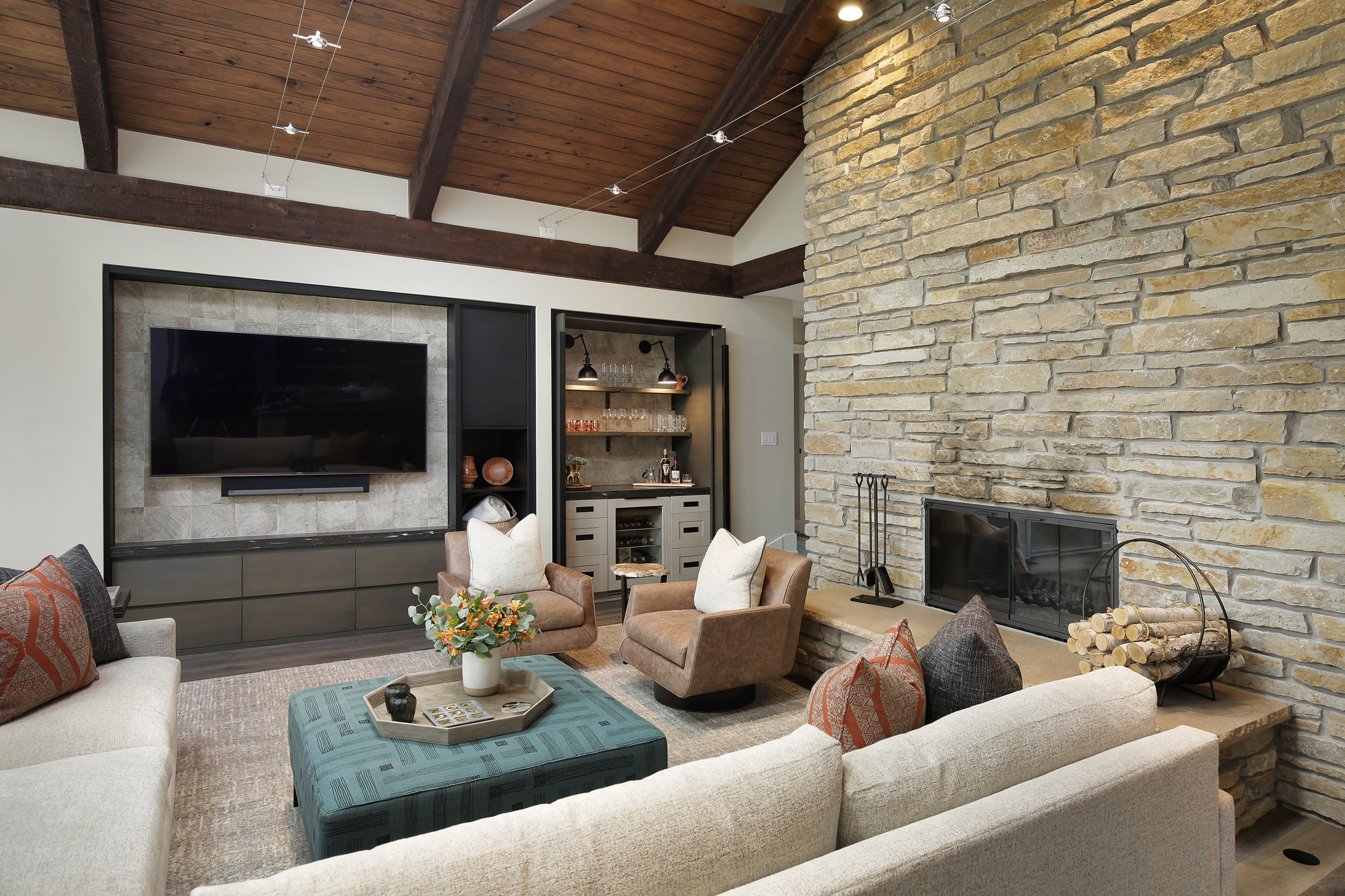 75 Beautiful Rustic Living Room Pictures Ideas December 2020 Houzz