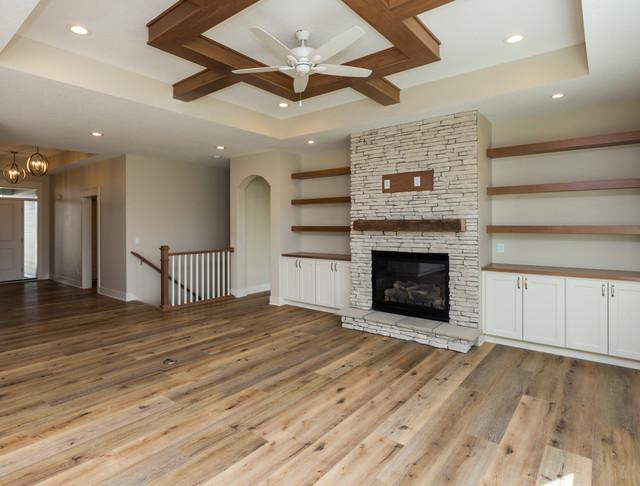 Norwalk New Construction farmhouse-living-room