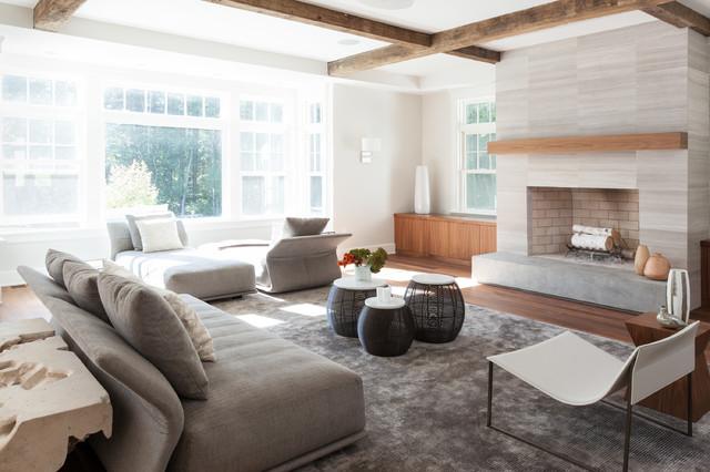 norwell residence classique chic salon boston par r me. Black Bedroom Furniture Sets. Home Design Ideas