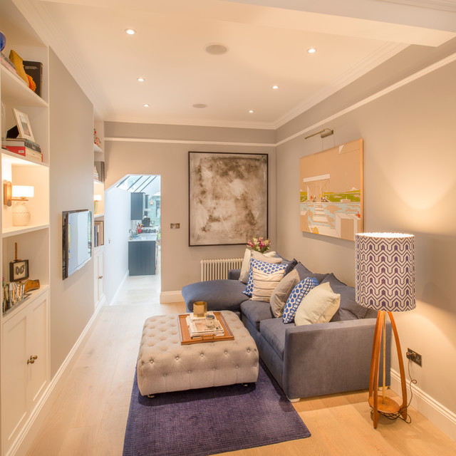 How To Deal With An Awkwardly Shaped Living Room Houzz Uk