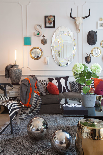 Notting Hill Residence eclectic-living-room