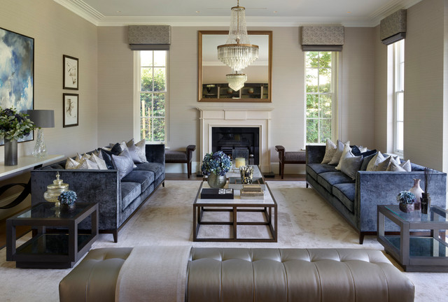 Nottingham House   Contemporary   Living Room   Berkshire   By Alexander  James Interiors