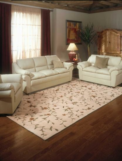 Nourison light gold rug traditional living room - Gold rug for living room ...