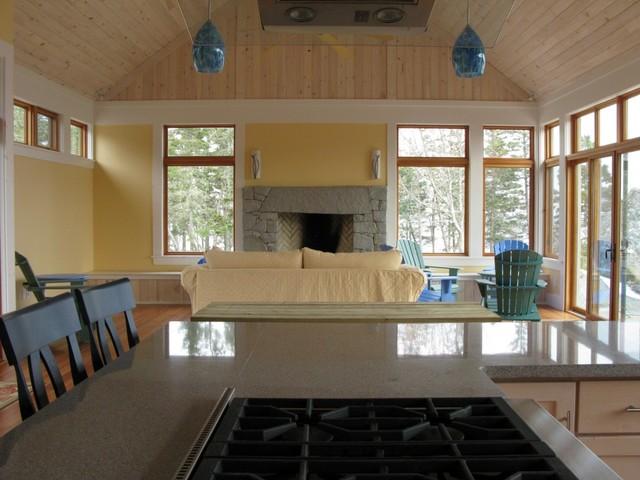 Nova Scotia Oceanfront Home Interior Traditional Living Room Other Metro By Nova