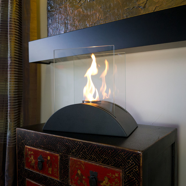 Nu-Flame Tabletop Estro Ethanol Fireplace modern-fireplaces