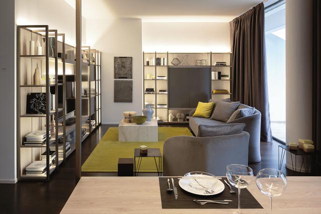Nunziati apartment citylife milan contemporary living for Galbiati arreda