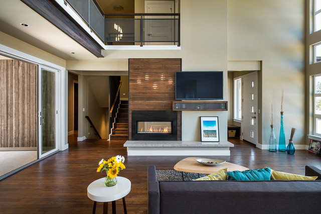 NW inspired Crest Meadows Residence contemporary-living-room