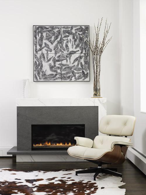 Lew Loft modern living room