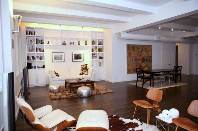 Lew Loft II contemporary-living-room