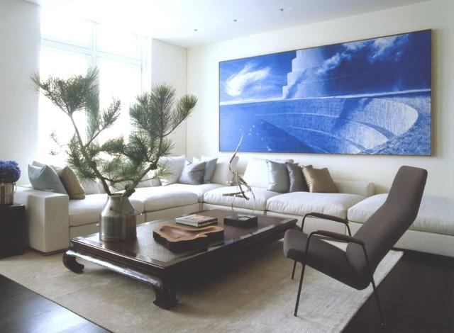 Ny Modern Asian Modern Living Room New York By Sam