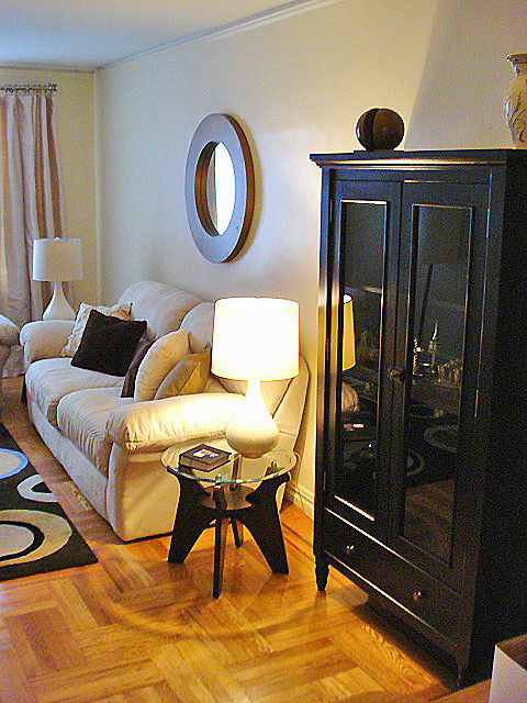 NY Small Apartment Living - Traditional - Living Room ...