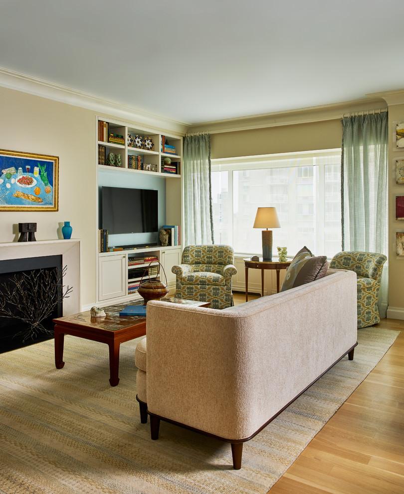 NYC Condo - Contemporary - Living Room - New York - by ...