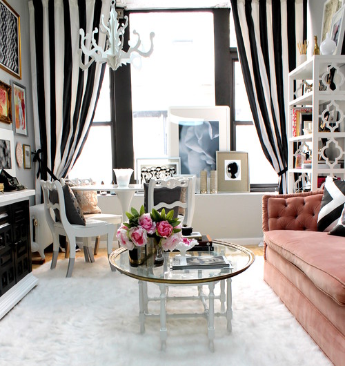NYC Fashion PR Firm eclectic living room