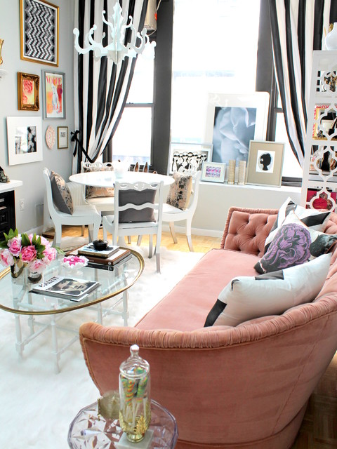 NYC Fashion PR Firm eclectic-living-room