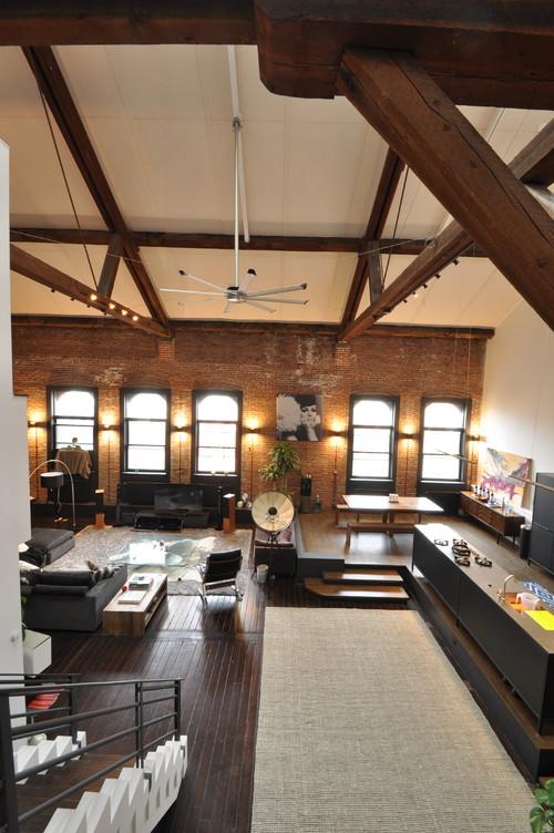 industrial living room ideas