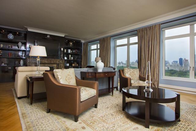 NYC Portfolio traditional-living-room