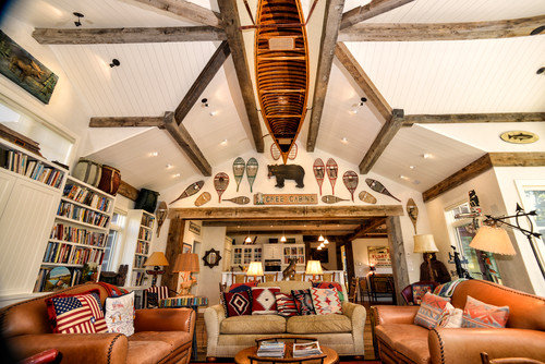 Love The Canoe Hanging From The Ceiling Were Did You Get It