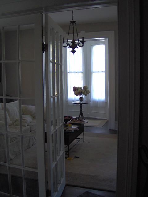 Oak Street Residence Living Room traditional-living-room