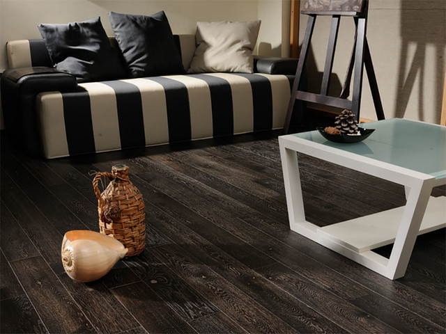 Oak Terra Flooring rustic-living-room