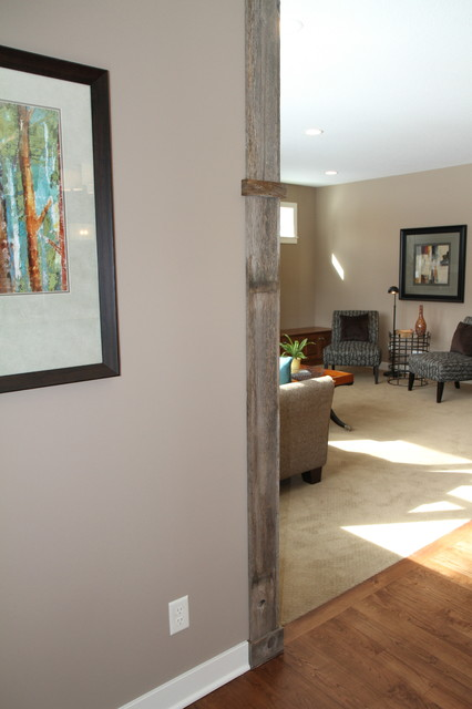 Oakland Model in Maple Grove traditional-living-room