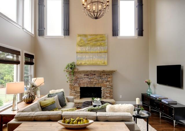 Oakleigh contemporary-living-room