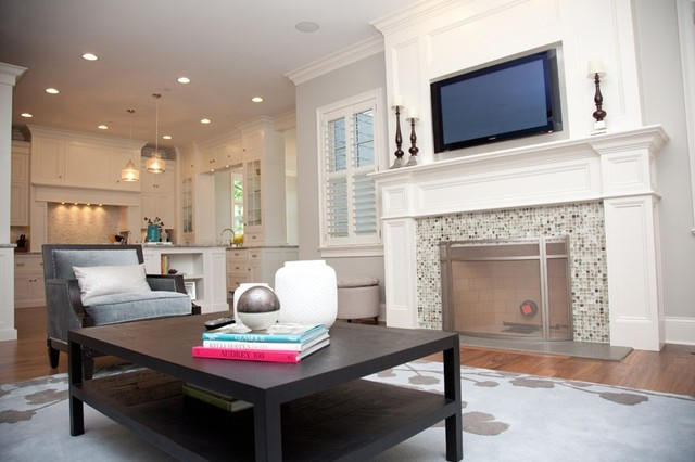 Oakley Home Builders traditional-living-room