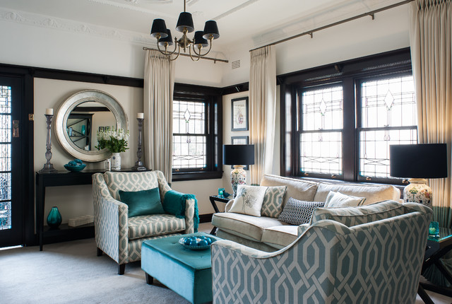 Teal black and white living room ideas for Black and teal living room ideas
