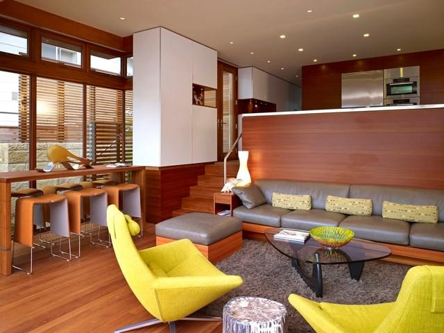 Carmel residence modern-living-room
