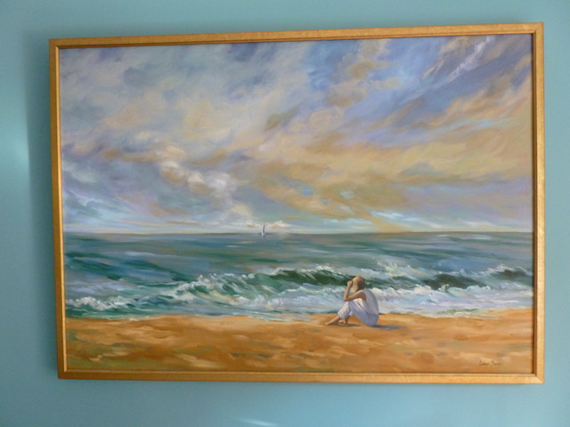 Oil Painting Beach Style Living Room Part 61