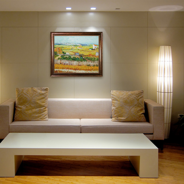 Oil Paintings For Living Rooms Modern Living Room Wichita By Overstockart