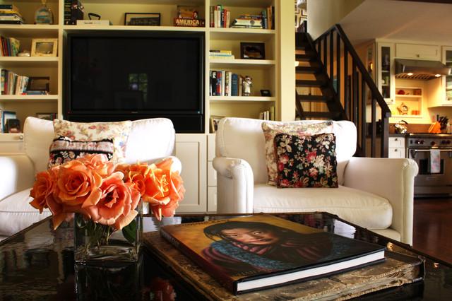 Ojai Guest House farmhouse-living-room