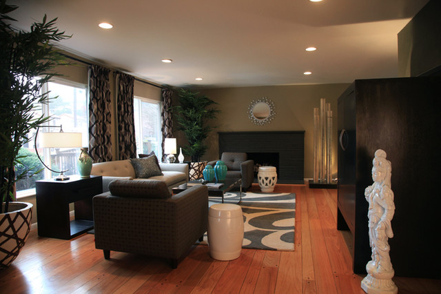 Okland Hills Residence contemporary-living-room