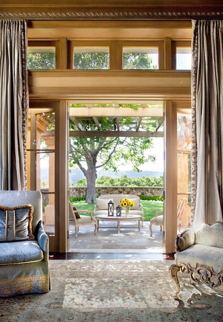 Living Room Doors Traditional Front Doors San Francisco By Jane Antonacci Interior Design