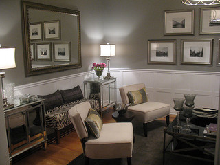 Old Hollywood Living Room Eclectic Living Room Ottawa by JAX Decor Design