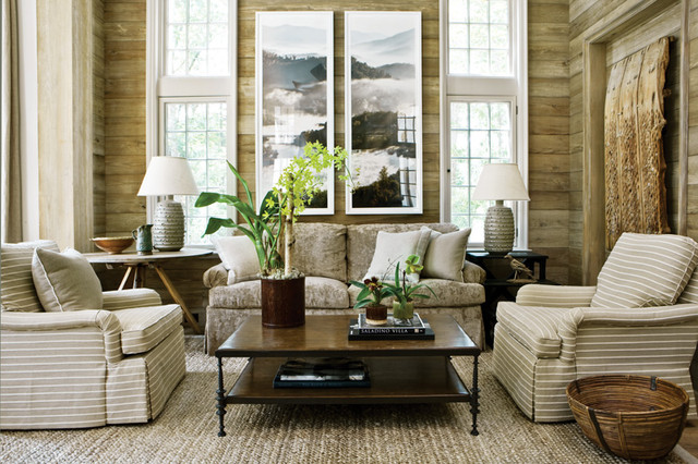 Old Meets New contemporary-living-room