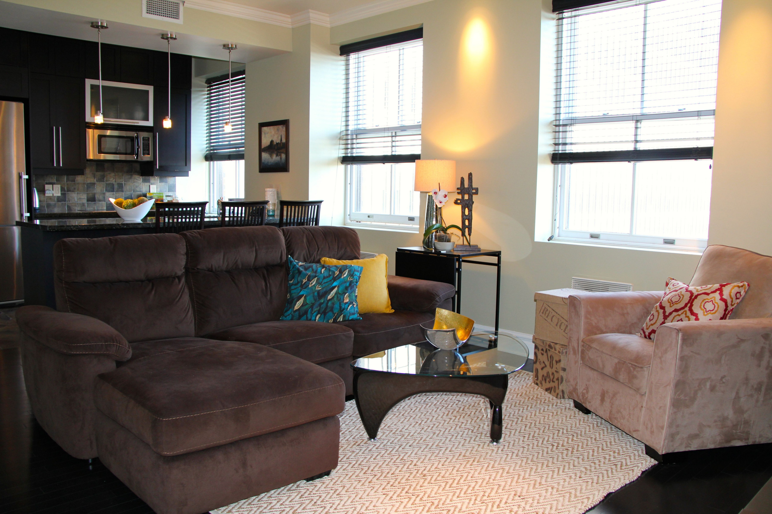 Old Montreal Condo Staging